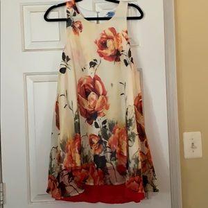 Until Color Knee Length Dress